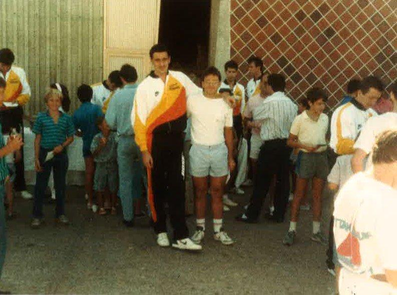 Jorge Martin con Rementeria  el pivot del estudiantes