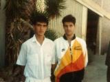 Yo con Carlos Montes
