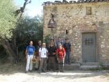 El grupo en el Mas de la campana
