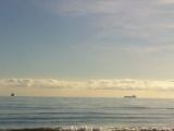 Barcos al fondo