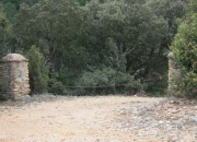 Entrada al camino de Masia d'en torres