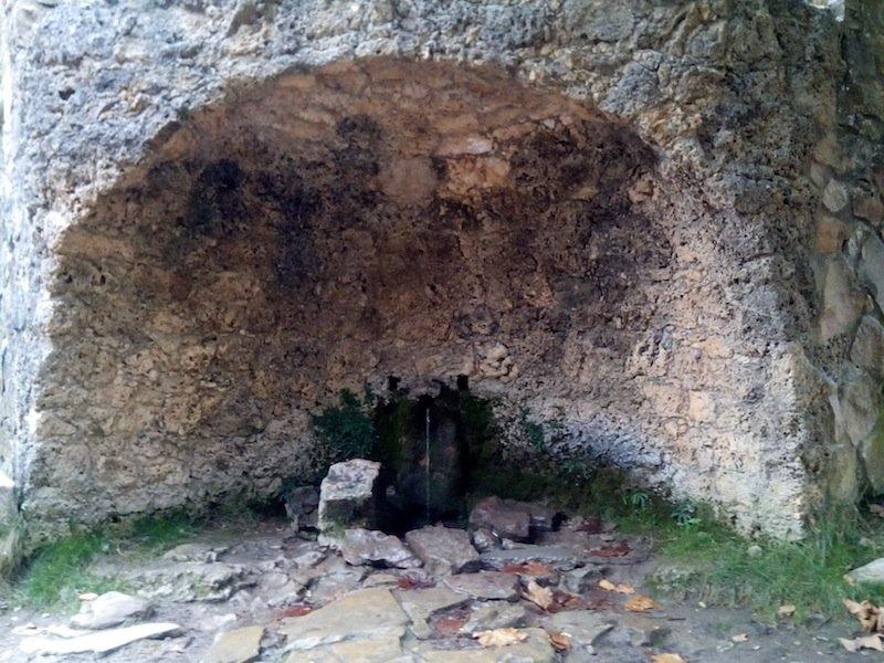 Fuente en Sant Joan de Penyagolosa