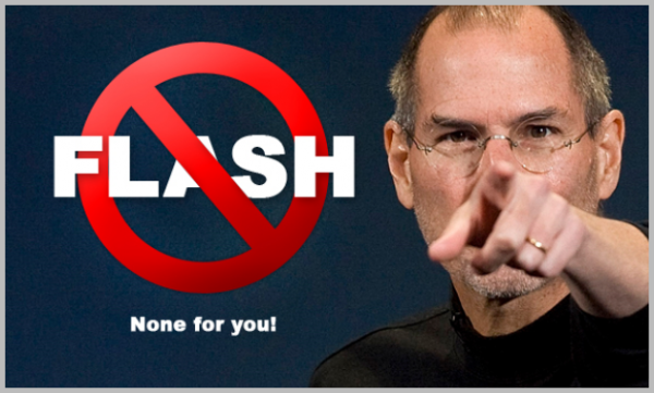 Steve Jobs No Flash